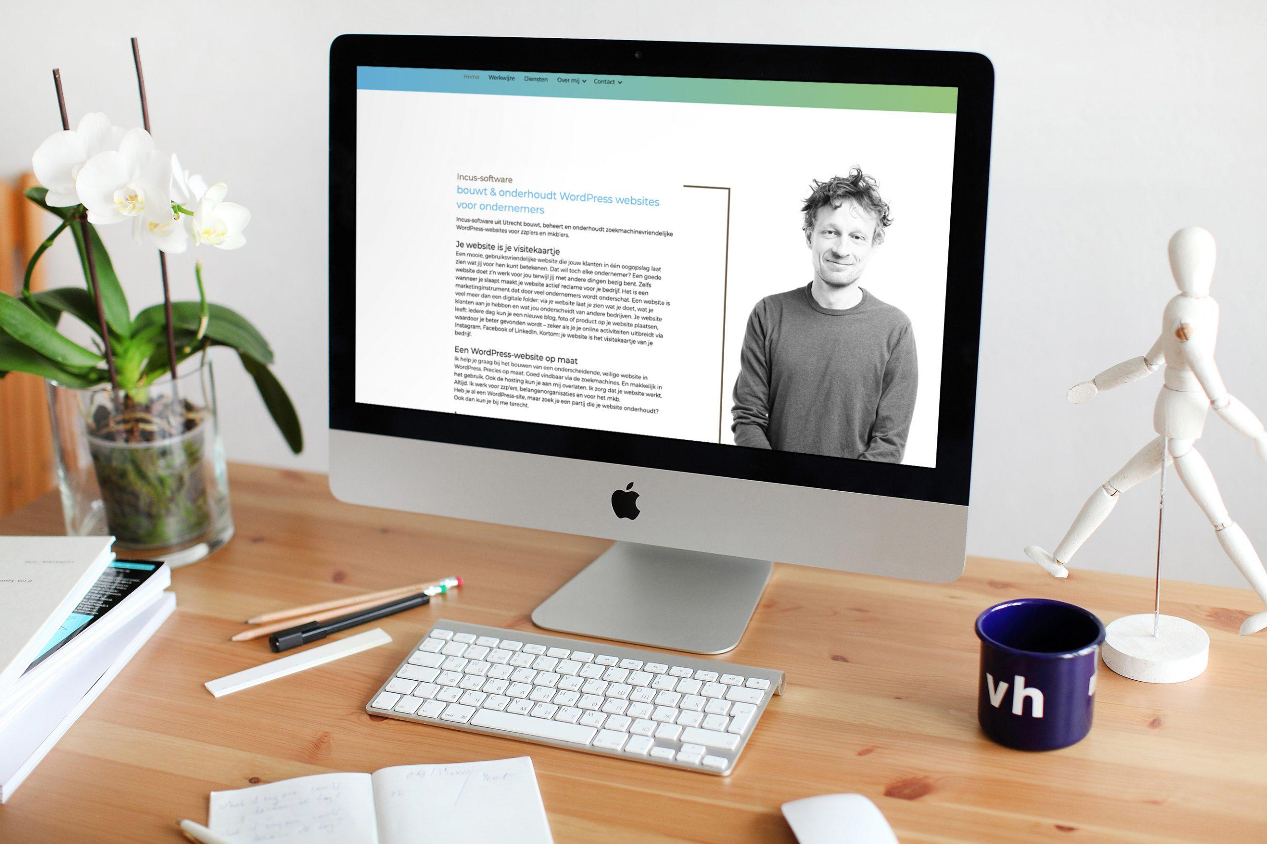 WordPress website bouw